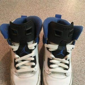 Nike Air Jordan Spizike BG Wolf Grey White Black